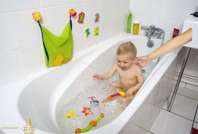 Never Ever Leave Your Baby Unattended In The Bath...