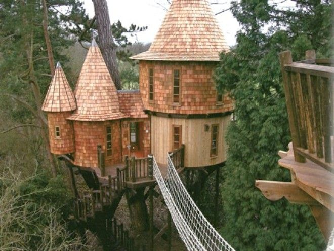 10 Outrageous Tree Houses Youll Want in Your Backyard