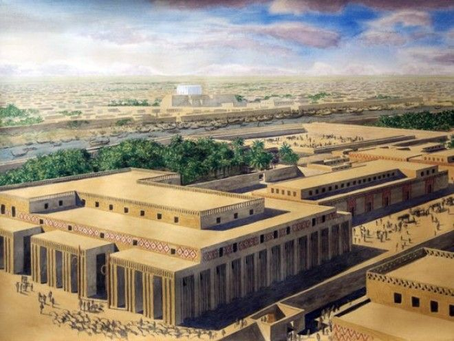 Uruk: The world's largest city in 3500 BC