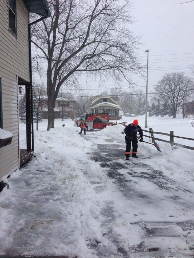 An Elderly Man In My Neighborhood Had A Heart Attack While Shoveling His Driveway Paramedics Took Him To The Hospital Then Returned To Finish Shoveling His Driveway For Him