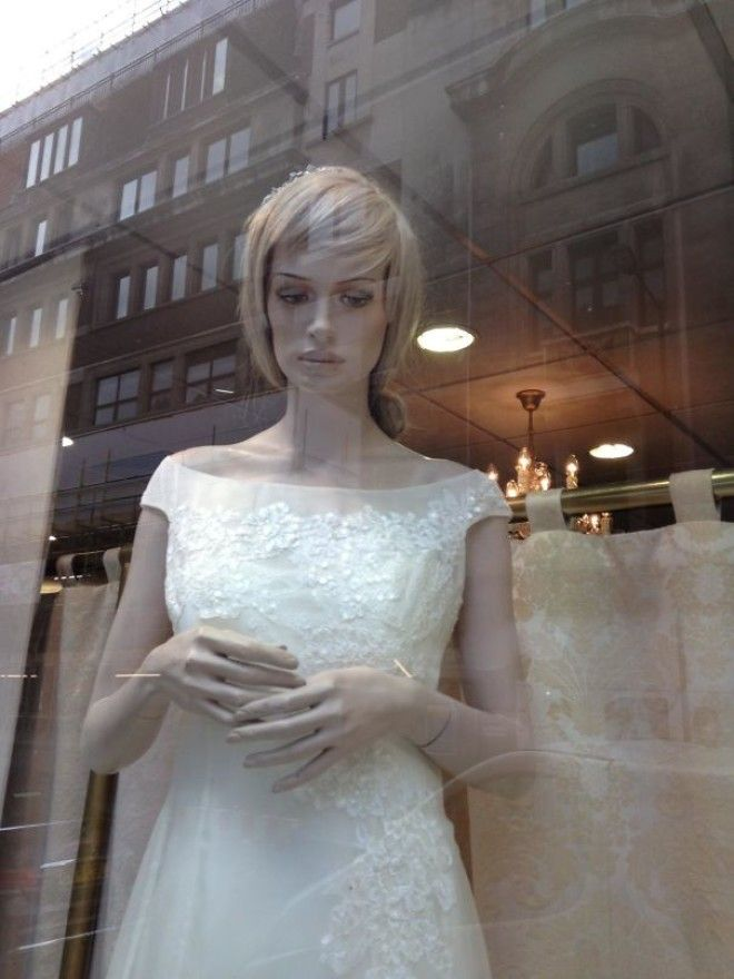 Cheer Up, Mannequin, It's Supposed To Be The Best Day Of Your Life