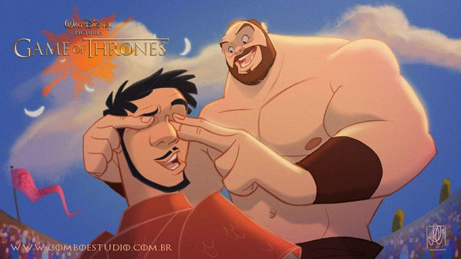 Oberyn & The Mountain