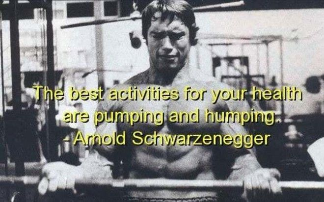 Life According to Arnold is listed (or ranked) 10 on the list 22 Funny Celebrity Quotes All Bros Can Totally Relate To