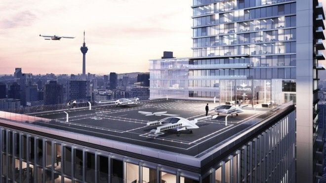Worlds first electric flying taxi jet takes to the skies