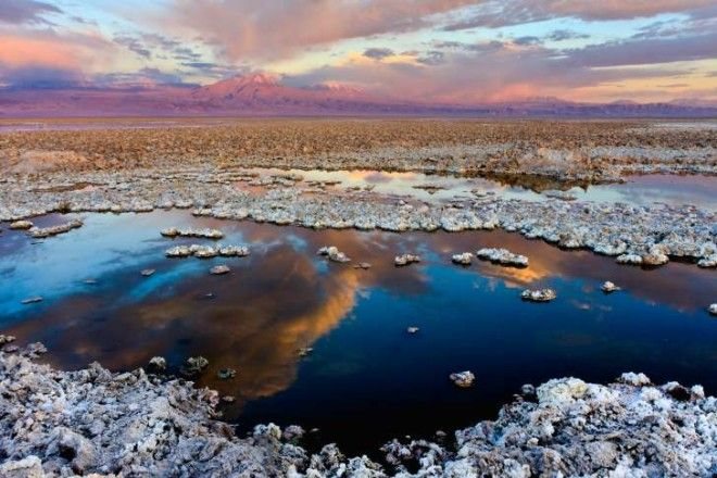 atacama salt flats in chile