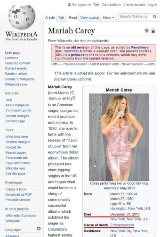 12 Of the Hilarious Wikipedia Edits By Internet Trolls