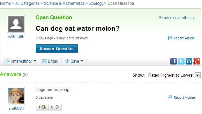24 Yahoo Answers Questions That Will Make You Question Peoples