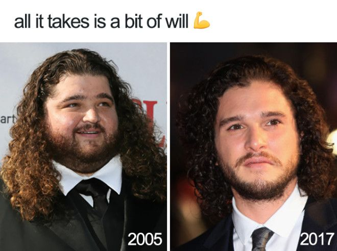 Progress 12 Years Of Hard Work Payed Off From Lovable Big Guy To Heartthrob