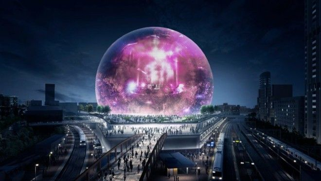 Populous MSG Sphere London venue