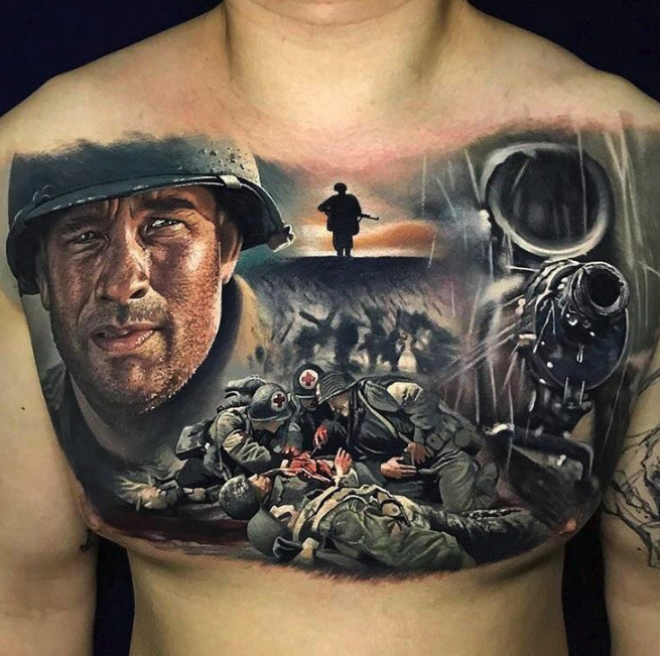 39 Super Impressive and WellDone Tattoos of Completely Bizarre Things