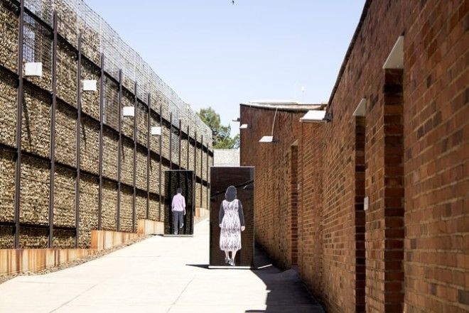 Entrance to the Apartheid museum | © Dendenal/Shutterstock