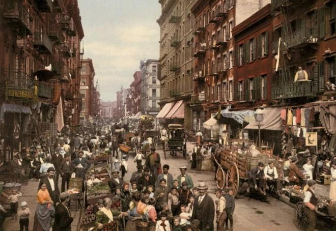 The first color photographs of the United States