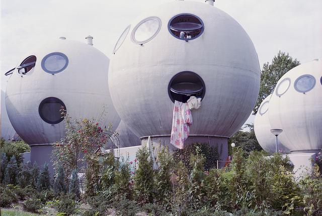 Wacky architectural exploration of the 1980s