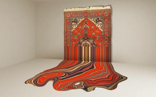 Another level of traditional Azerbaijani carpets