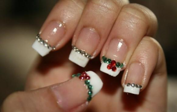 Fabulous holiday nail art