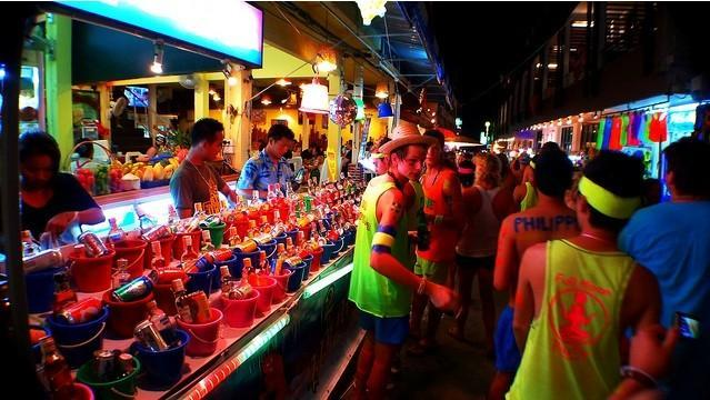 Thailand's full moon party