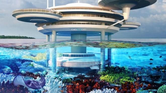 This Architect Has Designed An Underwater City Of The Future