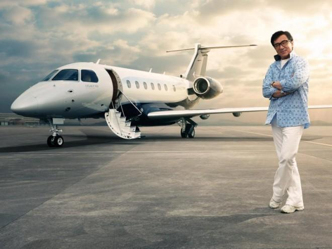 A state-of-the-art executive jet