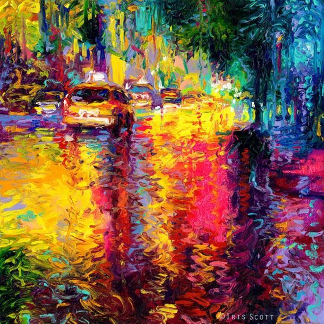 Expressive chromatic paintings