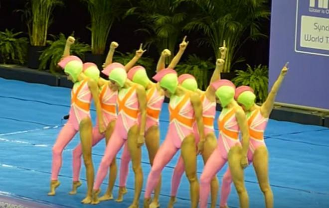 Team UK Synchronized Swimming