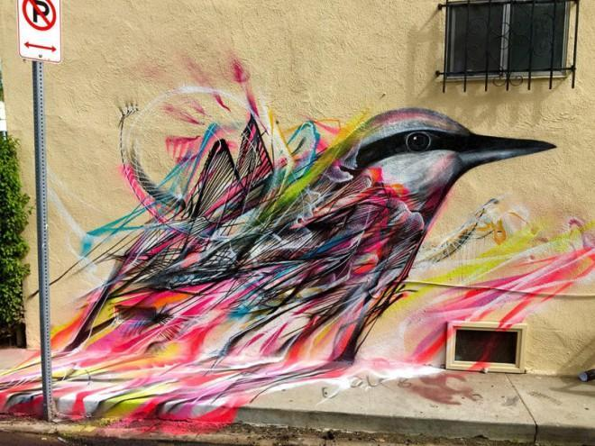 Amazing and unique bird murals