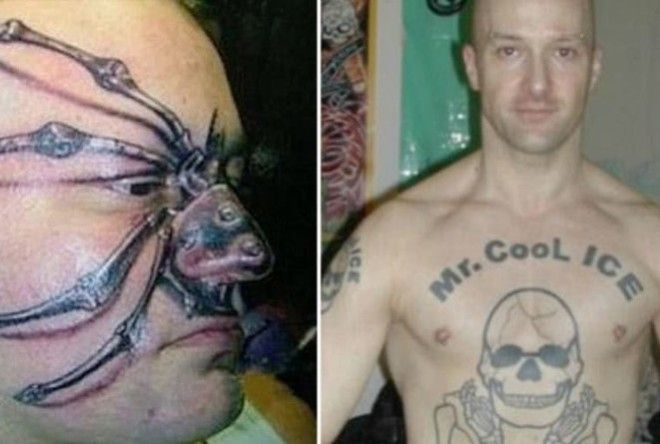 Very strange ideas for tattoos!