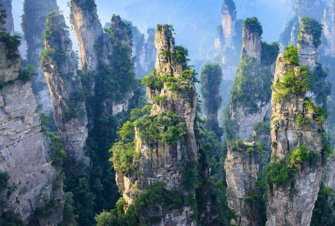 These mountainsin China are just breathtaking