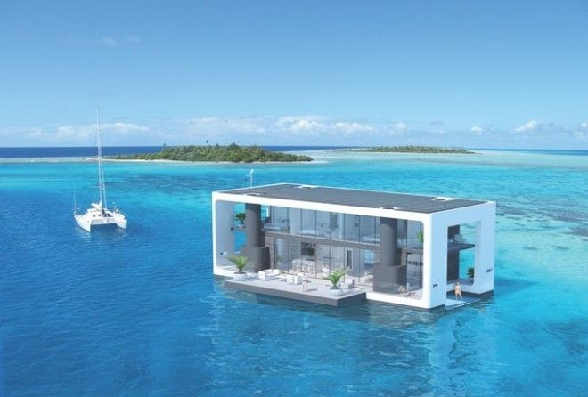 Let your dreams drift away with one of these floating paradises!