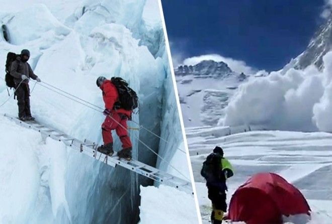 You're seriously mistaken if you think climbing Mt. Everest is easy.