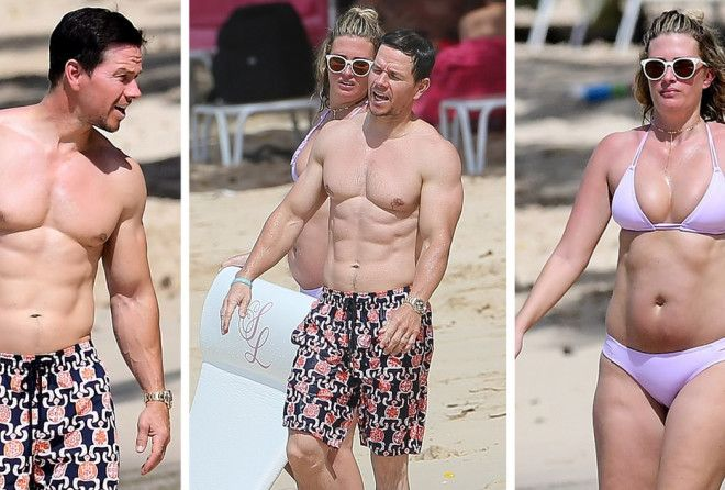 At 46, he's rocking that awesome beach bod!