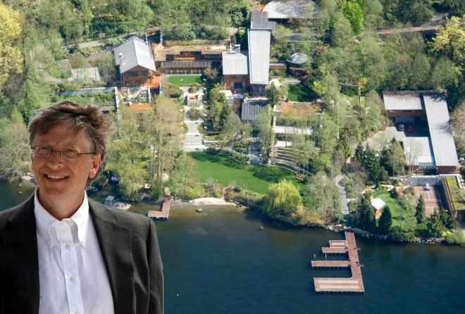 Take a look at the world's richest man, Bill Gates' 125 million mansion.