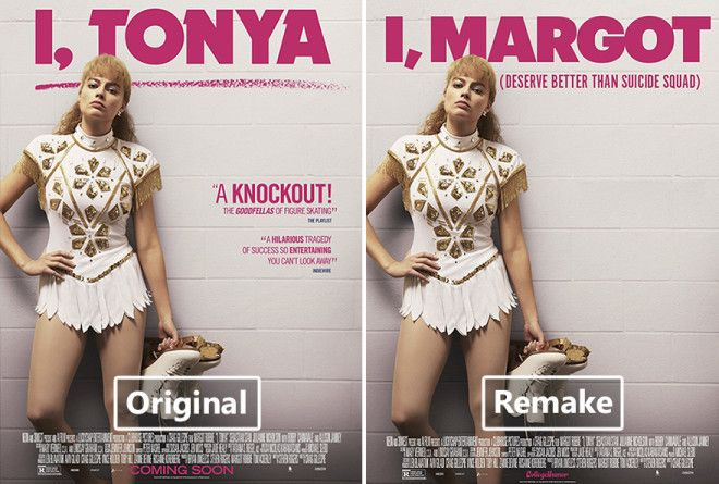 Here are 10 posters satirizing the the nominees in 2018's best picture category, along with I, Tonya for good measure.