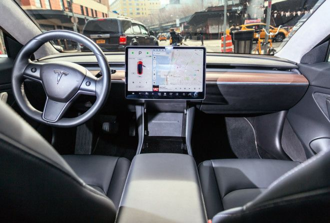 The Tesla Model 3 has the most minimalist interior we've ever seen.