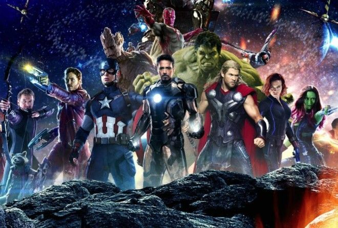 Avengers assemble...for picture time!