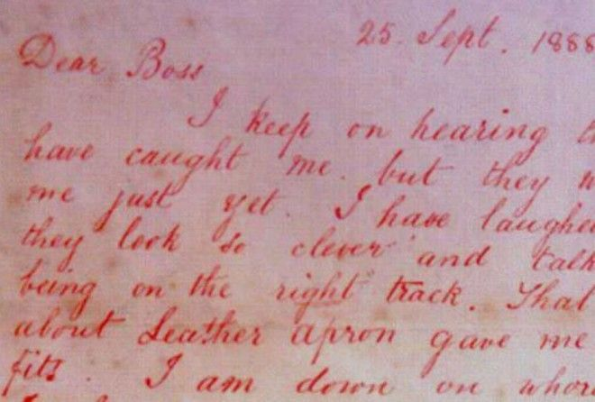 An analysis suggests that two popular Jack the Ripper letters were written by a single author.