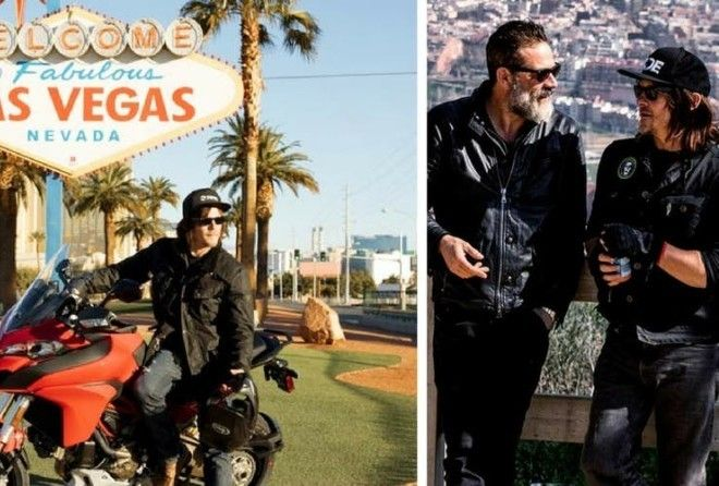 Here are 20 beautiful spots that Reedus has traveled to on his bike for the show Ride With Norman Reedus.