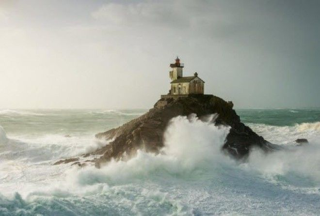 There is majesty in a lonely lighthouse, holding fast against the elements and remaining strong in the face of adversity.