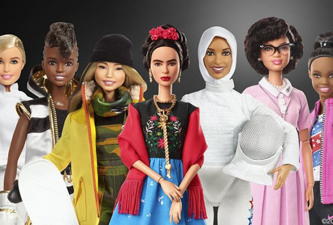 Barbie dolls have long inspired young girls with their beauty and fashion sense.