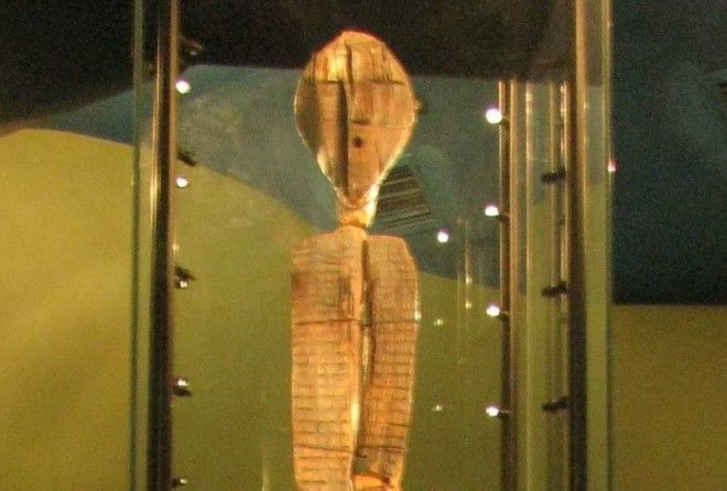 The Shigir idol that was carved during the end of the ice age in Siberia is revealed to be older than the Pyramids in Egypt