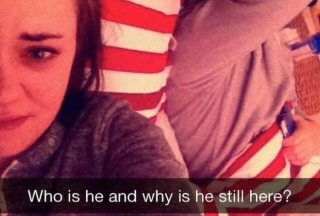 15 awkwardly funny Snapchats sent by people who definitely had a rough night. Check them out to see if you'll ever want to drink alcohol ever again!