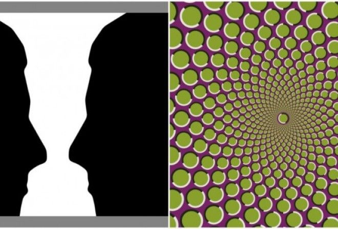 These optical illusions will have you scratching your head.